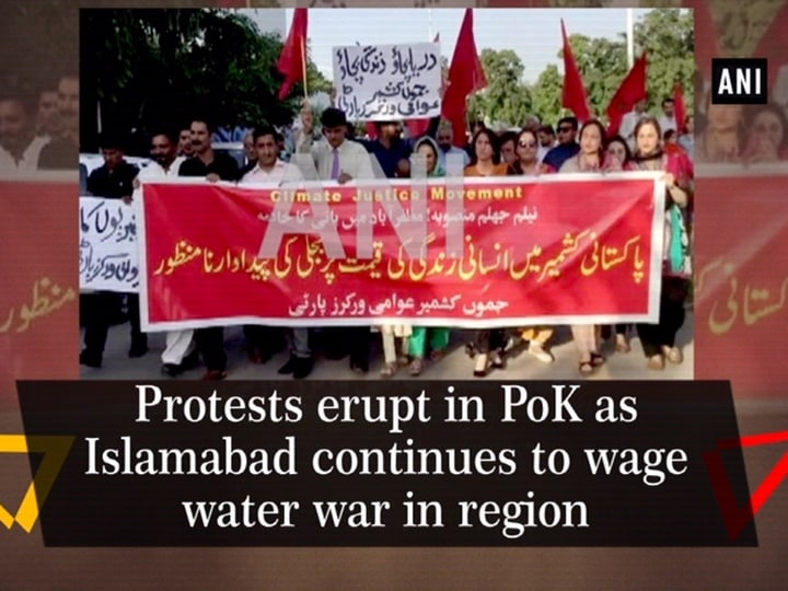 Protests erupt in PoK as Islamabad continues to wage water war in region