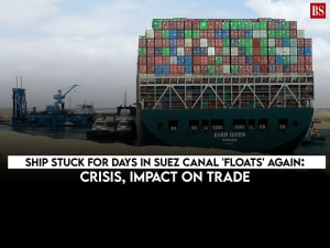 Ship stuck for days in Suez Canal 'floats' again: Crisis, impact on trade