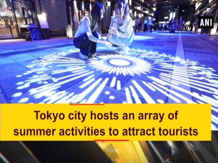 Tokyo city hosts an array of summer activities to attract tourists