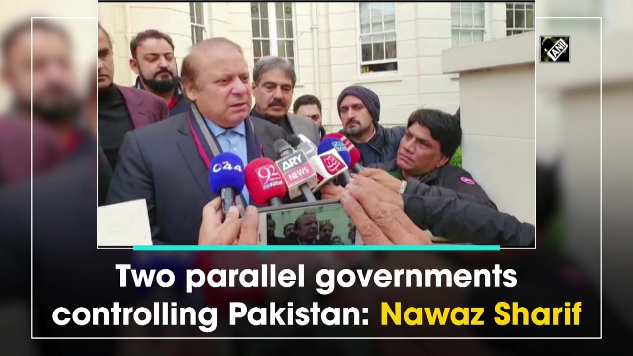 Two parallel governments controlling Pakistan: Nawaz Sharif