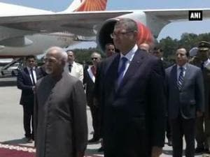 Vice President arrives in Tunisia