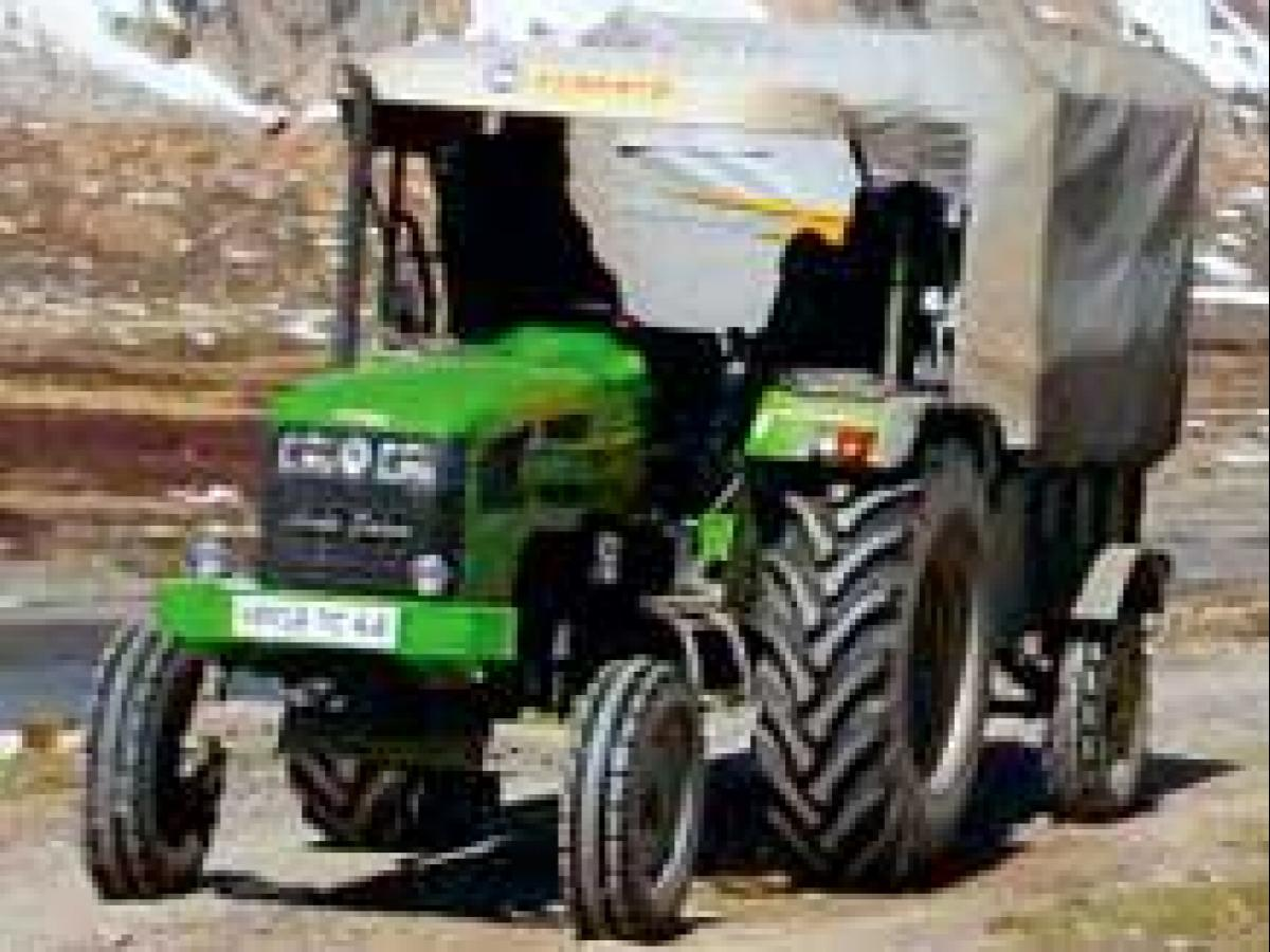 Vst Tillers Tractors Extends Fall On Restriction In