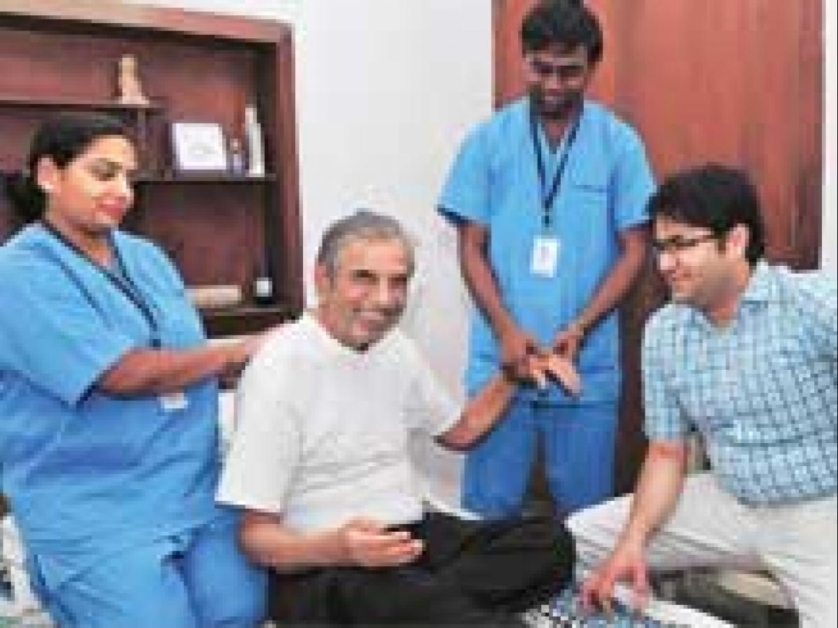 Chandigarh start-up offers high-tech home health care | Business
