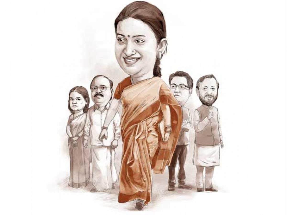 Smriti Irani's mercurial rise from TV actor to top politician