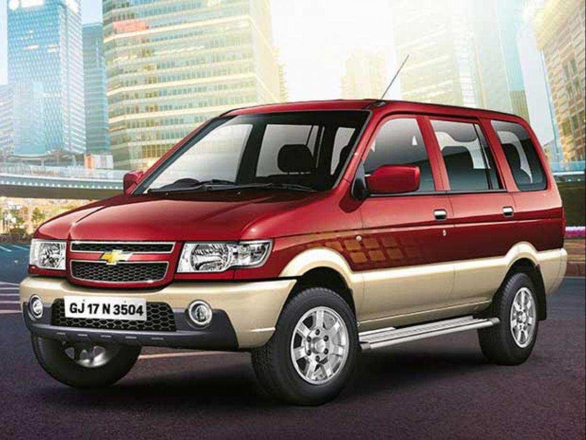 End Of The Road For Chevrolet Tavera Business Standard News