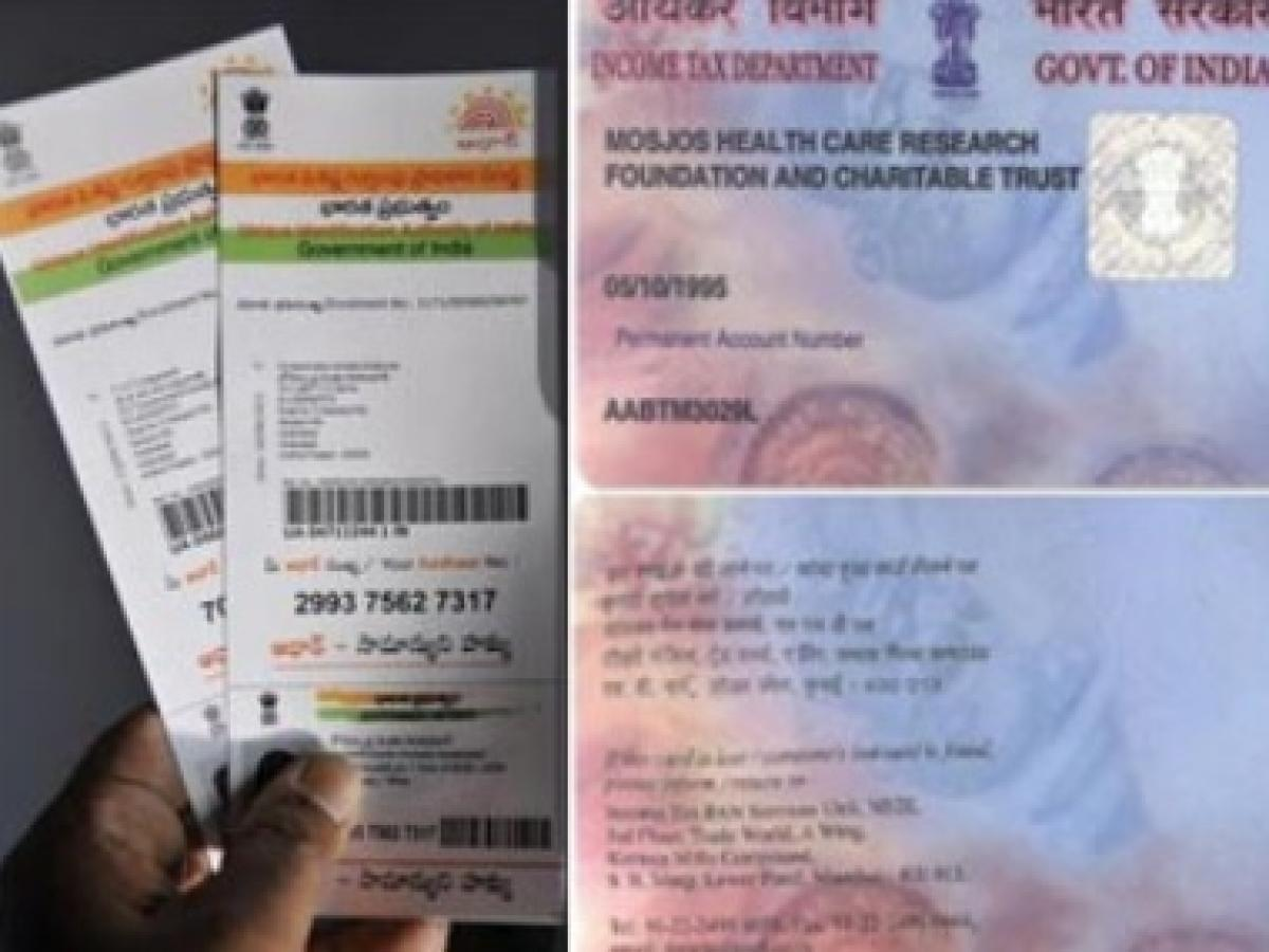 Update details to link PAN and Aadhaar, mismatch leads to