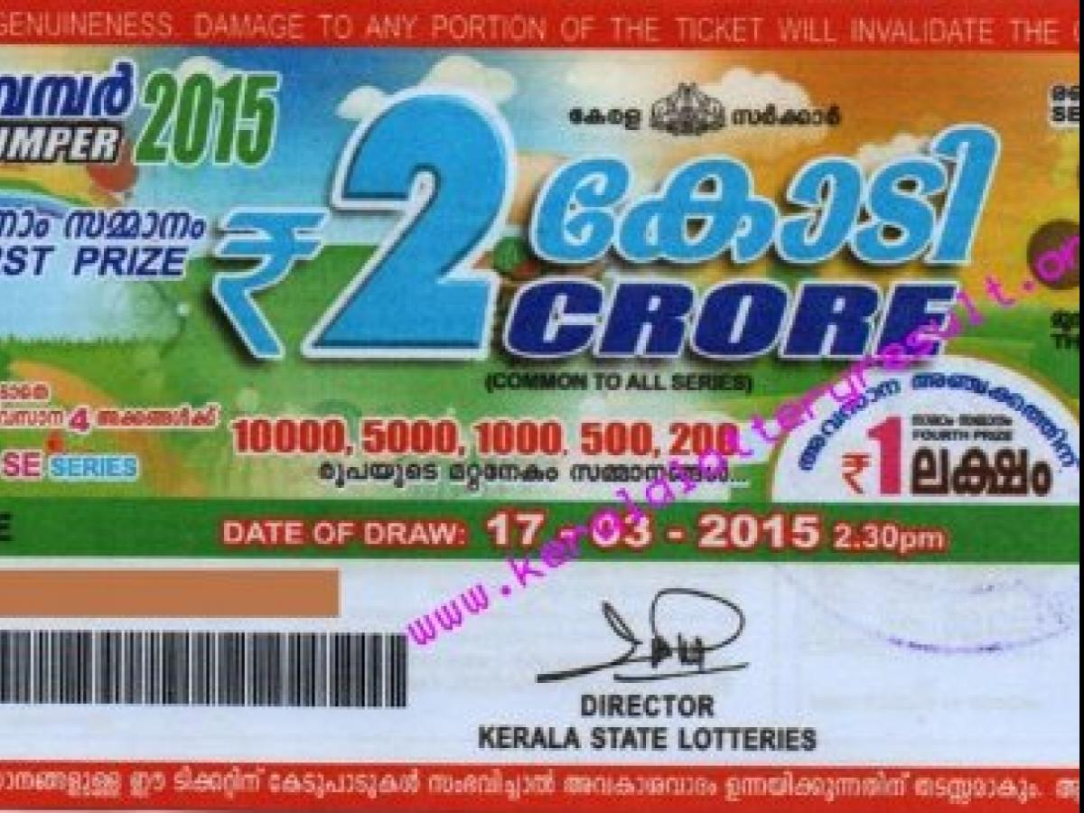 Kerala govt for new law to protect lottery revenue | Business