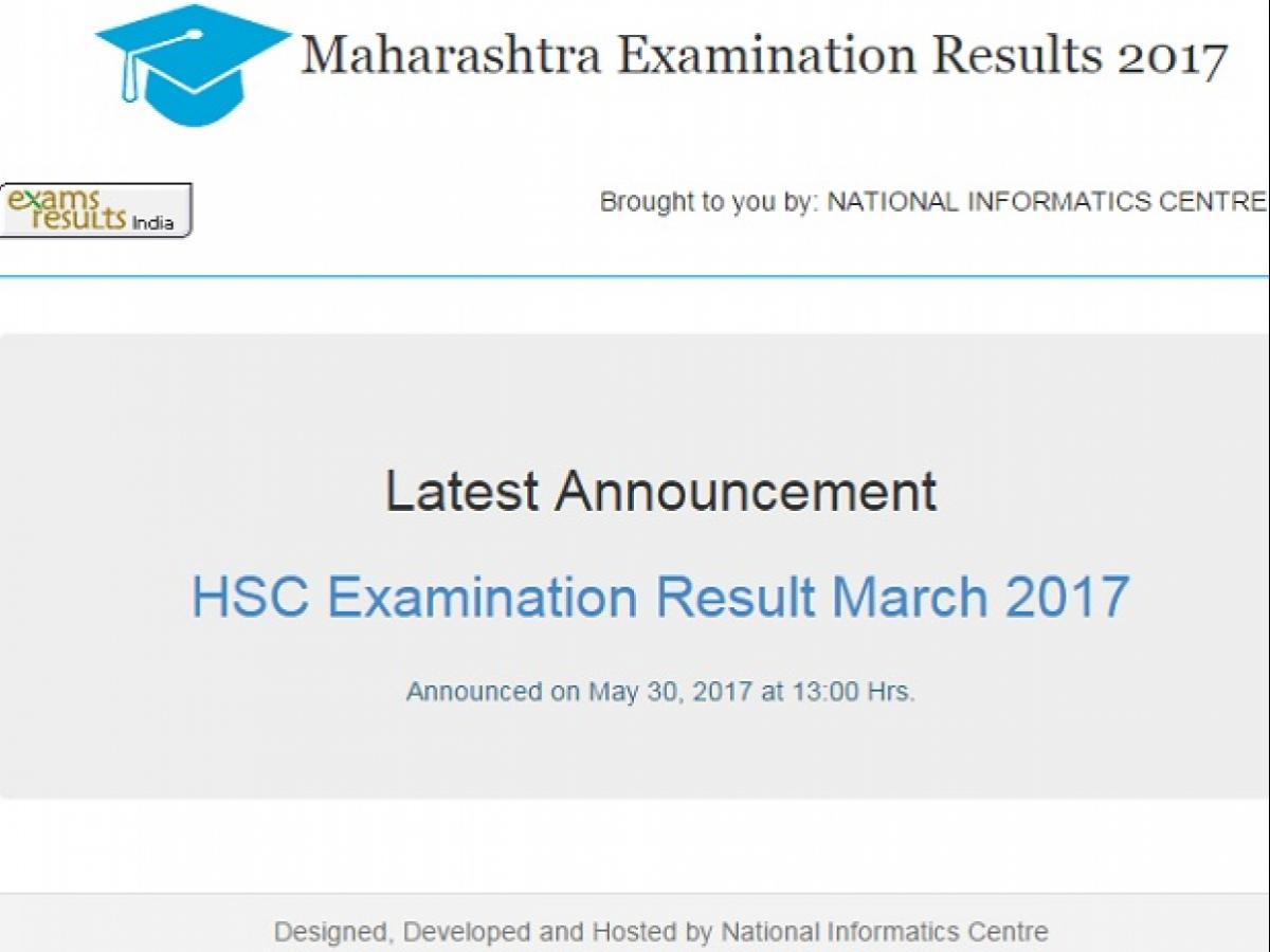 Maharashtra Board HSC 2017 results announced | Business Standard News