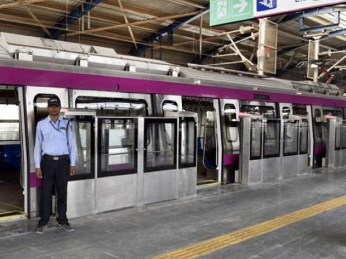 Coloured seats, PSDs among firsts for Delhi Metro's Magenta