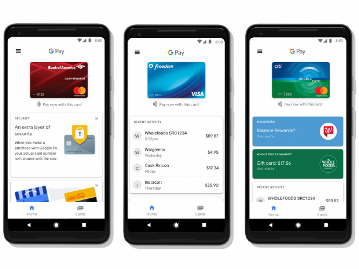 Google Pay announced for Android devices, comes with enhanced