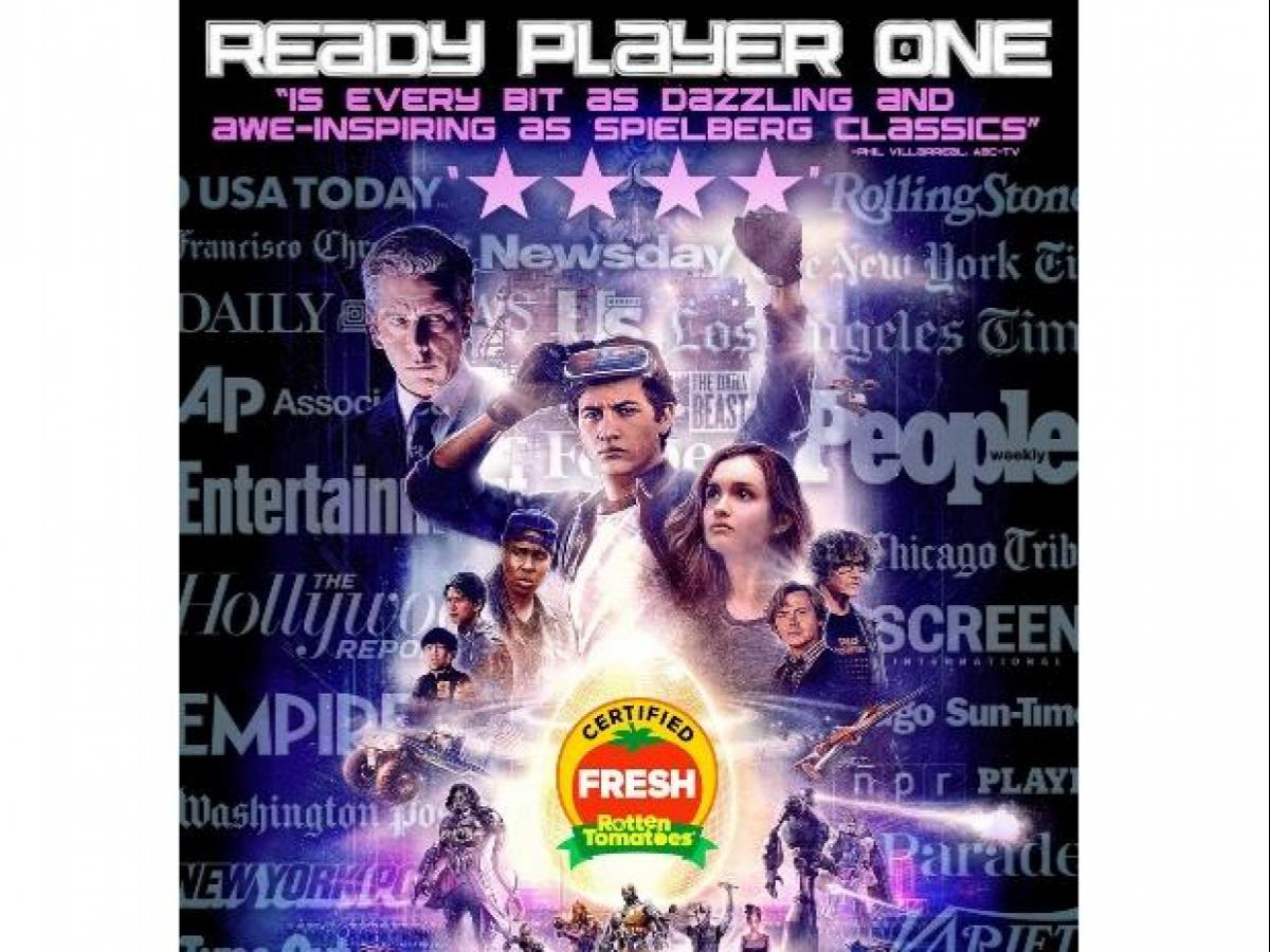 Ready Player One': A pop-culture eye candy but could be