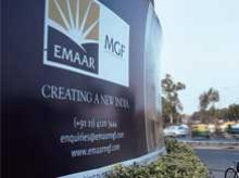 Emaar Properties India JV -- Emaar MGF to demerge (will be revised later)