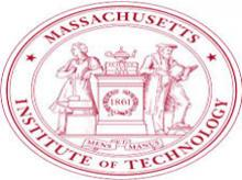 The logo of Massachusetts Institute of Technology (MIT), one of the top research institutes in the world, that was founded in 1861 in Cambridge.