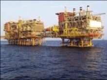 Oil rig; Photo courtesy: L&T