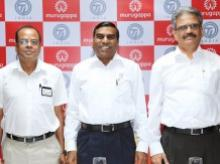 Tube Investments officials during tube plant inauguration at Tiruthani