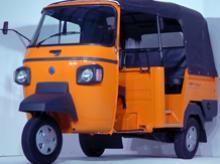 Piaggio Ape three-wheeler