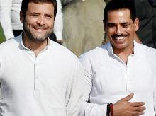 Rahul Gandhi with Robert Vadra