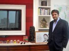 Anand Piramal at his office in Mumbai. File photo.