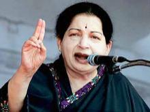 J Jayalalithaa. File photo