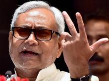 Nitish Kumar. File photo