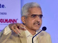 Shaktikanta Das Picture by PTI (File Photo)
