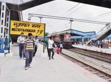 Muzaffarnagar railway station