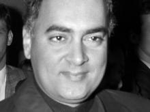 Rajiv Gandhi. Photo: Wikipedia