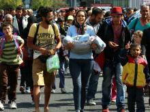 Migrants, Austria, Refugee, Hungary