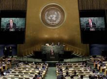 Nawaz Sharif, UN