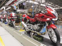 Bajaj may rev up plant to meet sales spike