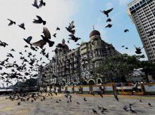 A view of Taj Mahal hotel on Wednesday, November 25, 2015. Taj was targeted during 26/11 terror attack in 2008
