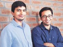 Ather Energy founders  Swapnil Jain (left) & Tarun Mehta