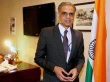 Syed Akbaruddin appointed India's ambassador to UN has taken charge as Permanent Representative of India to the UN in New York. File Photo: PTI