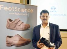 V Muthukumaran, CEO, Bachi Shoes, a subsidiary of Tata International, has launched a new line of footwear