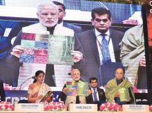 Prime Minister Narendra Modi launching the Startup India Action Plan in the capital
