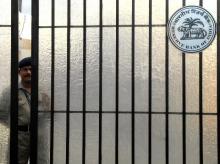 Outside RBI Headquarters in Mumbai.? Photo: Kamlesh Pednekar