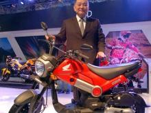 The Honda Navi that was launched at Delhi Auto Expo (pic: Dalip Kumar)