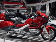 A superbike on display at Auto Expo 2016 in Greater Noida, Thursday, February 4 PTI