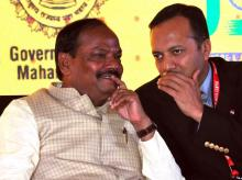 Jharkhand Chief Minister Raghubar Das at Jharkhand Investor Summit during Make In India week in Mumbai (pic: Suryakant Niwate)