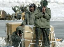 File photo of soldiers at Siachen