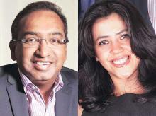 Sameer Nair, Group CEO & Ekta Kapoor, Joint MD, Balaji Telefilms