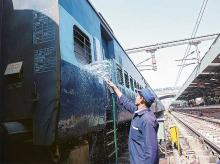 Railway expenses increase 19% on pay, pensions