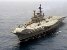 File photo of Indian Navy's conventional aircraft carrier INS Viraat (Photo:Wikipedia)