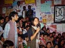 Shehla Rashid has found a political lexicon at JNU