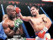 Manny Pacquiao (seen here fighting Timothy Bradley) has also expressed his desire to fight in Rio