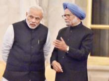 Narendra Modi: The one handed Prime Minister