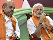 A file photo of Prime Minister Narendra Modi and BJP President Amit Shah