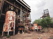A file photo of the Union Carbide pesticide plant in Bhopal