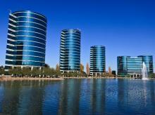 Oracle headquarters in Redwood Shores, California. Photo courtesy: Wikipedia
