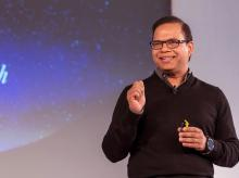 Amit Singhal, former boss at Google Search. Photo: Youtube
